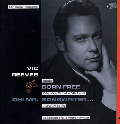 "Vic Reeves(12"" Vinyl P/S)Born Free-Sense-SIGH 12-10-UK-VG/Ex+"