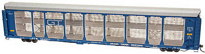 Intermountain HO-Scale 89' Bi-Level Auto Rack Carrier - Grand Trunk Western/GTW