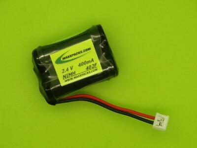 Jtech 232020 450 Restaurant Pager Battery 2.4V 300Ma / Made In Usa / 302F-P
