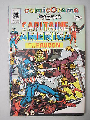 CAPTAIN AMERICA FRENCH CANADA TPB 1974 EDITIONS HERITAGE No 1052 CAPITAINE