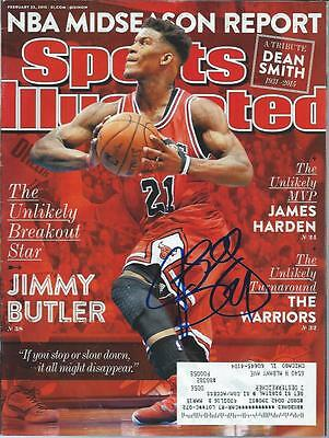 Jimmy Butler Chicago Bulls Autograph Signed Sports Illustrated 2/23/15