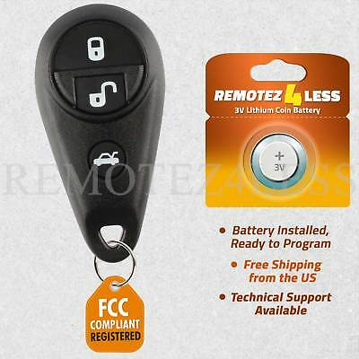 2 Pack Discount Keyless Remote Control Replacement Uncut Car Key Fob Compatible with Subaru B9 Tribeca CWTWBU745 4D 62
