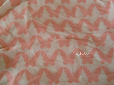 Amy Coe Limited Edition Mod Baby Butterfly Duvet cover pink & white crib