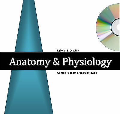 ANATOMY PHYSIOLOGY 1 & 2 Exams Study Guide & Audio Review Excelsior College