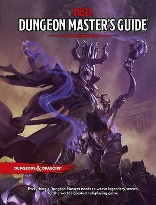 Dungeons & Dragons RPG Dungeon Masters Guide Hardcover WOC A92190000 #sfeb16-167