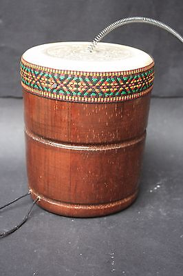 Mexican Thunder Maker Drum Musical Percussion Instrument Latin Ethnic Folk Art