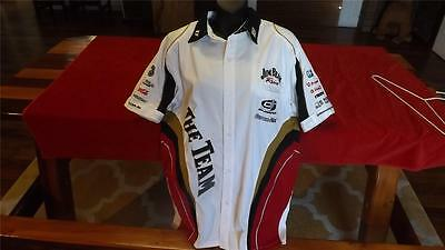 Jim Beam Racing Offical Pit Shirt In Like New Cond Size M