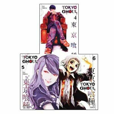 Sui Ishida Tokyo Ghoul Vol 4-6 Comics & Graphic Novel 3 Books Collection Set New