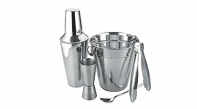 Cocktail Maker Gift Set Stainless Steel Apollo