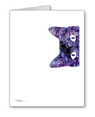 PEEKING CAT Note Cards With Envelopes
