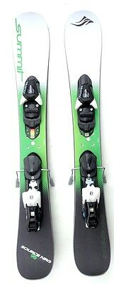 Summit  Source NRG 96cm RKR Skiboards with Salomon L10 Release Bindings NEW