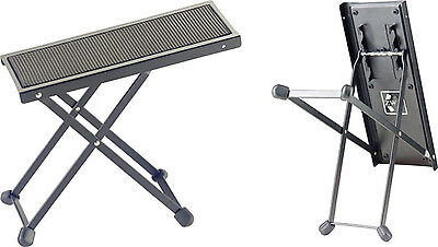 Stagg Fos-B1 Bk Metal Folding Foot Rest For Guitar , Bass, Mandolin , Violin