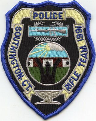 SOUTHINGTON CONNECTICUT CT Rifle Team POLICE PATCH