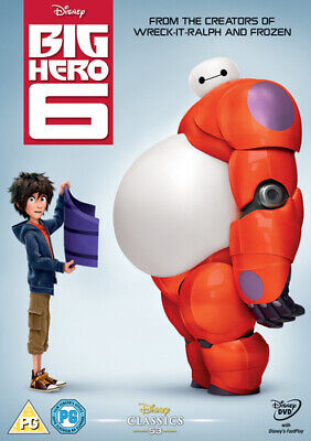 Big Hero 6 DVD (2015) Don Hall cert PG Highly Rated eBay Seller Great Prices
