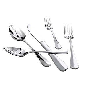 WinCo 0034-08 Dinner Stainless Steel Knife Extra Heavy Flatware Set of 12 Knives