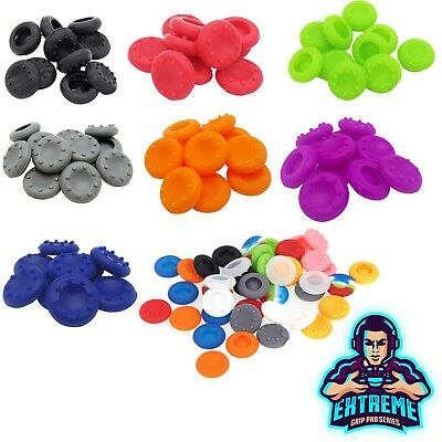 2 x Rubber Thumb Stick Cover Grip Caps For Sony PS3 + XBOX 360 Analog Controller