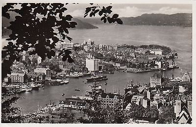Post Card - Norway / Norge - Bergen, Aussicht vom Floien