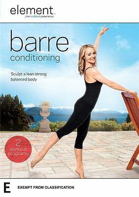 """Element: Barre Conditioning DVD R4 New & Sealed """"sale"""""""