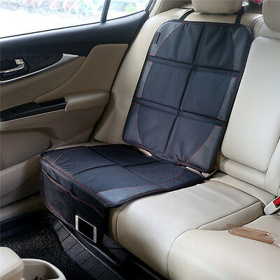 Infant Baby Easy Clean Non Skid Watherproof Car Cover Seat Protector Mat Black