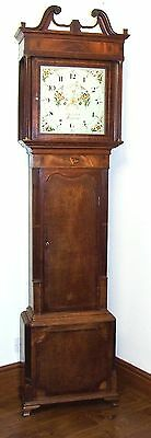 Antique 8 Day oak & Mahogany Grandfather Longcase Clock RICHARDSON TARPORLEY