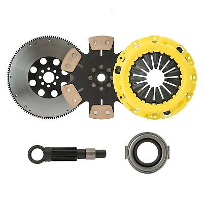 eCLUTCHMASTER STAGE 4 RACING CLUTCH+FLYWHEEL KIT SET Fits 00-05 JETTA GOLF 1.8T