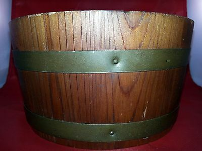 Vintage Woodenware Richmond Va. Cedar Works Co BUCKET