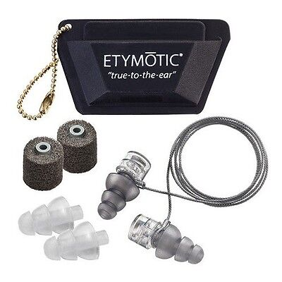 Etymotic ER20XS Motorsports / Motorcycle High Definition Earplugs Universal Fit