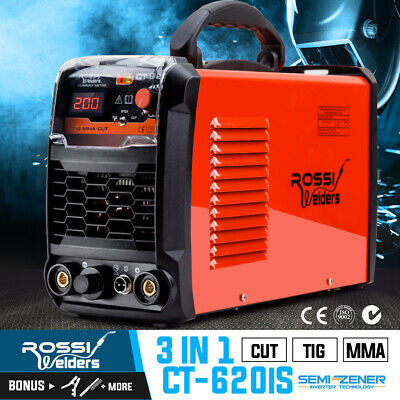 ROSSI CT-620iS DC TIG ARC Plasma Cutter Portable Inverter Welder Welding