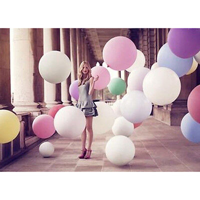 """New 36"""" Inch Big Large Giant Ballons Latex Wedding Party Helium Decoration Good"""