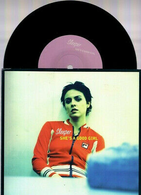 """Sleeper She's A Good Girl Indolent Rec . 1997 7"""" Rpm Limited Edition Numbered"""