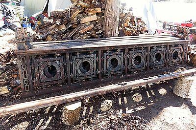 Antique From New York City Victorian Gothic Ornate Cast Iron Fence