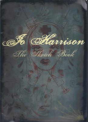 Jo Harrison: The Sketch Book 1st edition paperback Tattoo Design