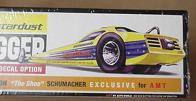 AMT plastic model kit Plymouth Digger Hemi Cuda Dragster Stardust Sealed # 602