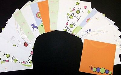 "20 COLOURFUL DOUBLE SIDED PAPERS *15cm x 15cm  (6"" X6"") Scrapbooking- Cardmaking"