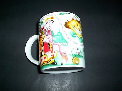 Alice In Wonderland Cafe Coffee Cup Mug Paul Cardew Cheshire Cat Queen