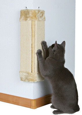 Cat Pet Wall Corner Scratching Scratch Board Mat PostW Tree Scratcher Sisal Rope