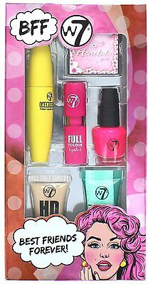 W7 Best Friends Forever 6pc cosmetics makeup companions gift set