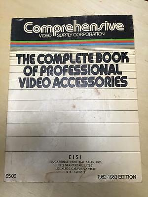1982 Comprehensive Video Supply Catalog ~ Video Accessories ~Cables Lights more!