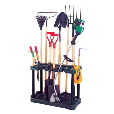 Garden Tool Rack Trolley Gardening Equipment Storage Caddy Garage Organiser