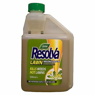 Resolva Weed Killer Herbicide Kills Weeds not Lawn/Grass Treats 250sq.m