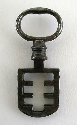 Antique 19th C Odell Steel Latch Key - French Latch Lifter - Edinburgh Tenement • CAD $56.70