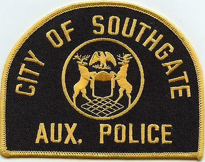 SOUTHGATE MICHIGAN MI Auxiliary POLICE PATCH