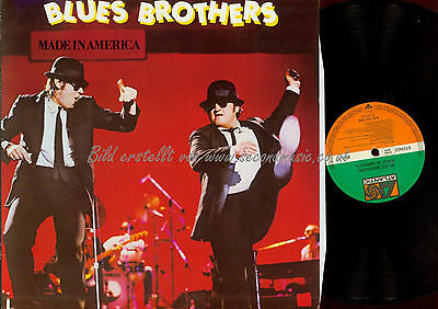 Lp-The Blues Brothers Made In America Atl 50768 Germany