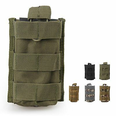 Tactical MOLLE PALS Modular Utility Open Top MOLLE Magazine Mag Pouch Holster
