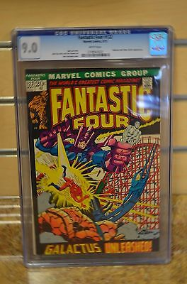 Fantastic Four #122 (May 1972, Marvel) Bronze Age CGC 9.0 Silver Surfer Galactus
