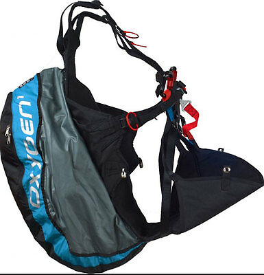 Ozone Oxygen Light Weight Reversible Paraglider Harness for Kiting & Flying Lg