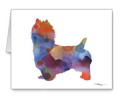 AUSTRALIAN TERRIER Note Cards With Envelopes