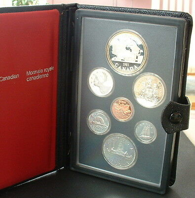 Canada  1981   Proof Double Dollar Set  ***7 Coins***
