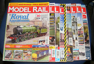 Model Rail Magazines Various Issues 2013
