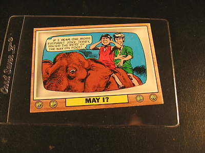 1969 Topps Crazy TV Final Card with Knock-Knocks #47